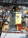 Brasov, Transilvania, Rumunia, centrum miasteczko Obraz Royalty Free
