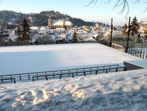 Brasov, Transilvania, Rumunia, Czarny kościół Obraz Royalty Free