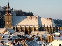 Brasov, Transilvania, Rumunia, Czarny kościół Zdjęcia Royalty Free