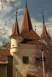 Catherine Gate, Brasov, Romania. Historical, monument. Brasov, Transylsvania, Romania. Ecaterina Gate Catherine`s Gate was built in 1526 for the access of Royalty Free Stock Photography