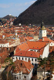 Brasov in Transylvania (Romania) Royalty Free Stock Image
