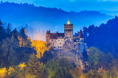 Brasov, Transylvania. Romania. The medieval Castle of Bran, known for the myth of Dracula royalty free stock image