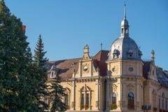 BRASOV TRANSYLVANIA/ROMANIA - SEPTEMBER 20: Sikt av traditen royaltyfri foto