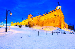 Brasov, Transylvania, Rumunia - cytadela Obrazy Royalty Free