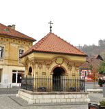 Brasov union square Royalty Free Stock Image