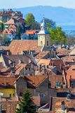 Brasov upper view-landmark Royalty Free Stock Photos