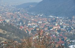 Brasov view Stock Photography