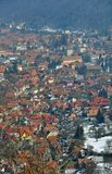 Brasov view panorama Royalty Free Stock Photo