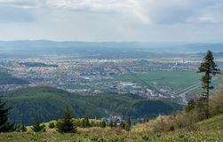 Brasov view Royalty Free Stock Images