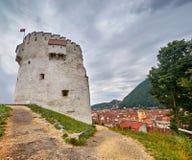 Brasov White Tower Stock Photos