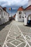 Brasov-Zitadelle, Rumänien Stockfotografie