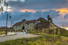 Brasov-Zitadelle, Rumänien Lizenzfreies Stockbild