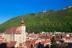 Brasov - Zwarte Kerk Stock Afbeelding