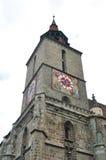 Brasov zwarte kerk Stock Foto's