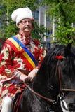 brasovjunien ståtar romania Fotografering för Bildbyråer