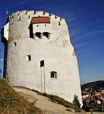 Brasovs weißer Kontrollturm Stockfotografie
