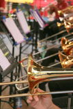 Brass band Royalty Free Stock Photo