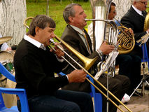 Brass band Stock Photo