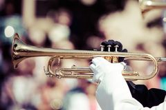 Brass band parade Royalty Free Stock Images