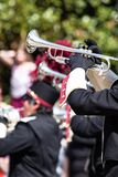 Brass band parade Stock Image