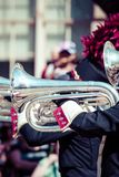 Brass band parade Royalty Free Stock Image