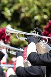 Brass band parade Royalty Free Stock Photography