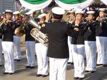 Brass band, Thailand. Royalty Free Stock Images