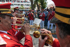 Brass band in Turkey Royalty Free Stock Photo