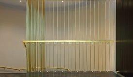 Brass Banister Stock Image