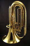 Brass Baritone. For beginning band students stock photography