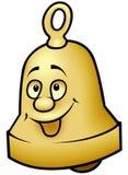 Brass Bell. Colored cartoon illustration vector illustration