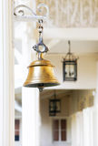 Brass bell Stock Photography