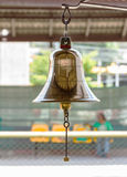 Brass bell. Royalty Free Stock Image