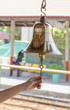 Brass bell. Royalty Free Stock Photography