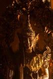 Brass Buddha statues Stock Image
