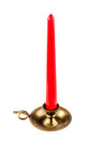 Brass Candlestick Royalty Free Stock Photos