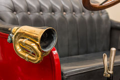 Brass Car Horn Royalty Free Stock Photo