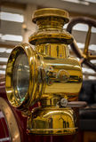 Brass Car Lamp Royalty Free Stock Images