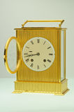Brass Carriage Clock Stock Photography
