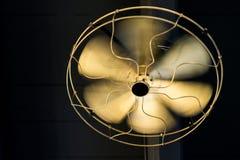 Brass ceiling fan Royalty Free Stock Photos