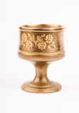 Brass chalice Royalty Free Stock Photography