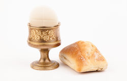 Brass chalice Stock Photography