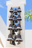 Brass Church Bells Royalty Free Stock Images