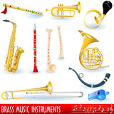 Brass Collection Royalty Free Stock Photography