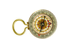 Brass Compass Royalty Free Stock Photos