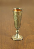 Brass cup Stock Photo