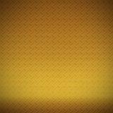 Brass diamond plate background Stock Photos