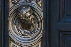Brass Door Detail 5 Stock Photo