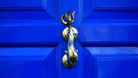 Brass Door Handle Royalty Free Stock Images