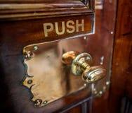 Brass Door Handle Royalty Free Stock Image
